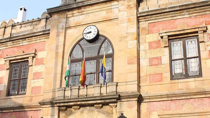 Fachada del Ayuntamiento de Algeciras