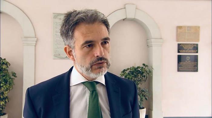 Keit Azopardi, líder de la oposición en Gibraltar
