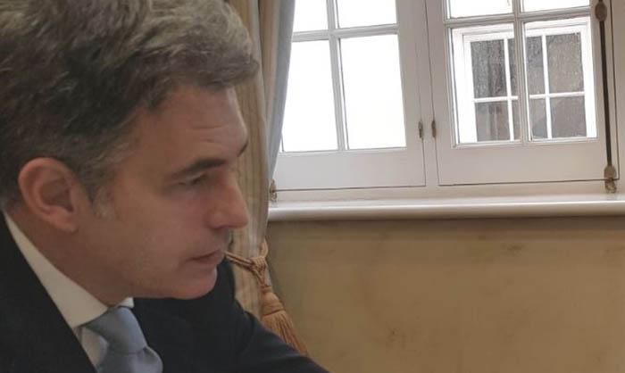 Keith Azopardi, líder del GSD,