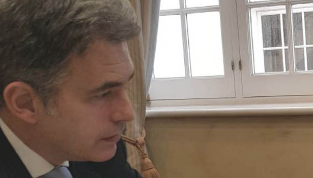 El líder del GSD en Gibraltar, Keith Azopardi.