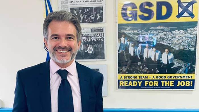 Keith Azopardi (GSD), en una imagen de archivo