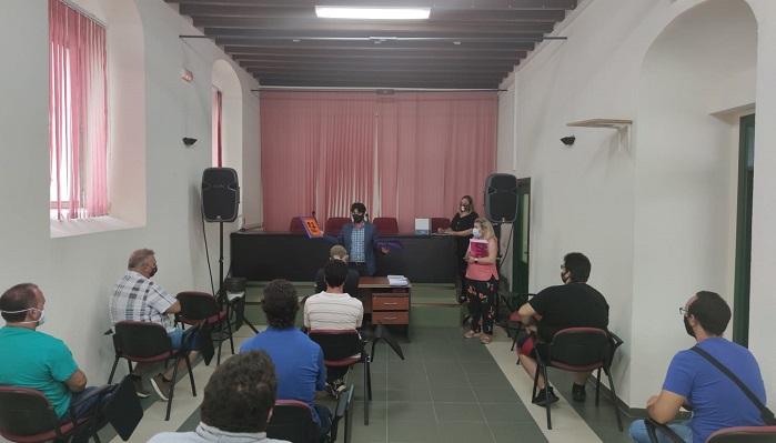 Los castañeros de Algeciras, informados del protocolo anti Covid-19