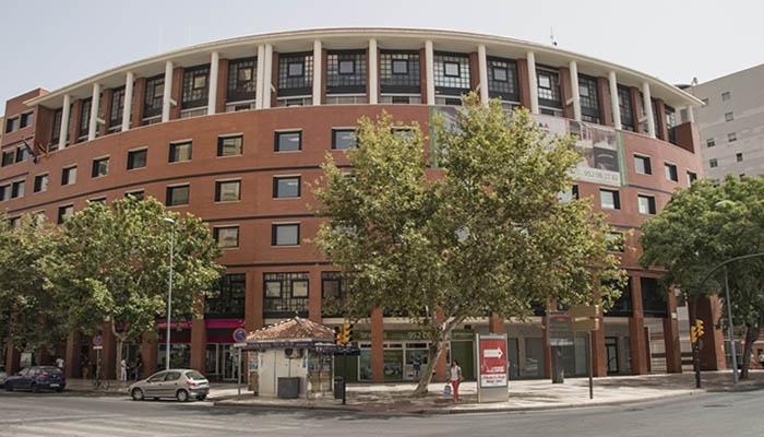 Edificio donde se encuentra el Consulado británico en Málaga.