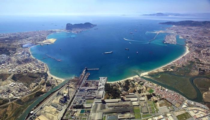 Imagen de la Bahía de Algeciras