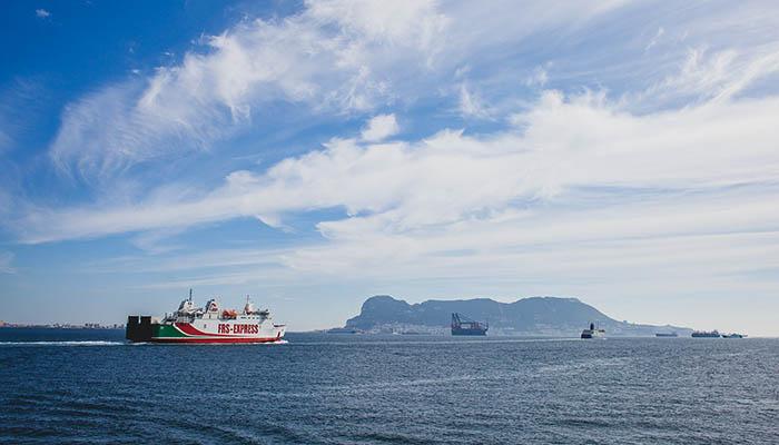 Bahía de Algeciras y Peñón de Gibraltar. Foto Sergio Rodriguez