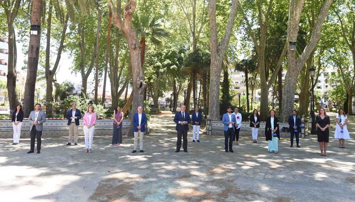 El equipo estuvo en el parque María Cristina