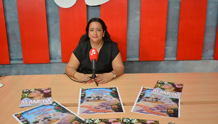 La concejal de San Roque ha valorado de manera positiva la Feria 2019