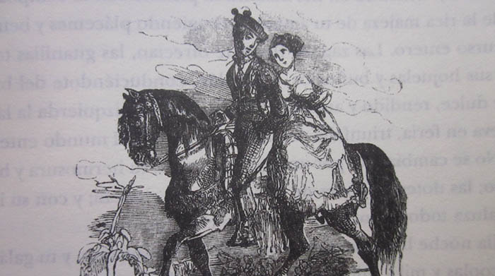 Imagen recogida en el libro Escenas andaluzas, de Serafín Estébanez Calderón