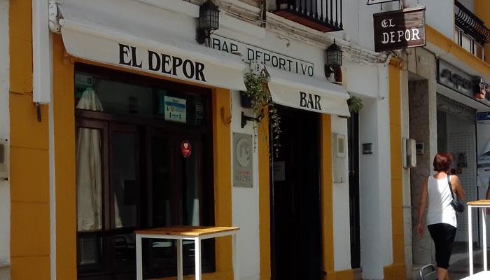 El Depor Bar tras su reapertura