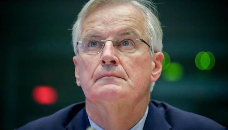 Michel Barnier, el negociador de la delegación europea. Foto Efe