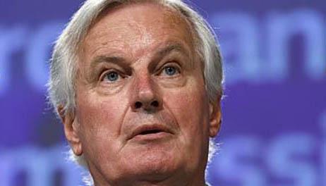 El negociador de origen francés, Michel Barnier.