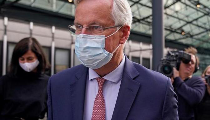 Michael Barnier, el negociador de la delegación europea. Efe