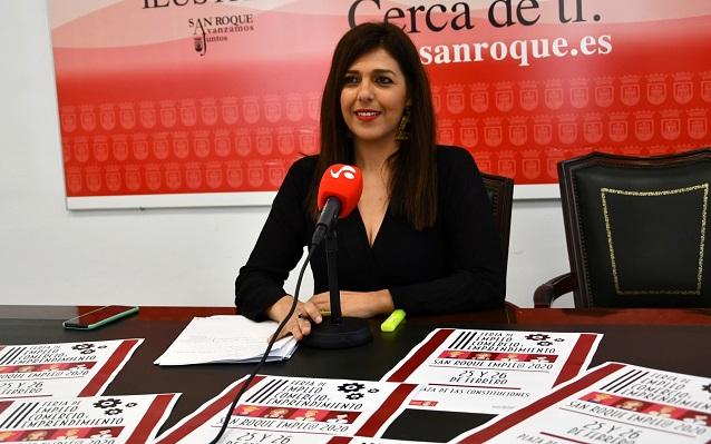 Belén Jiménez, concejal de Empleo en San Roque