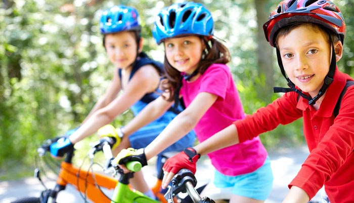 La campaña trata de promover el ejercicio entre los más pequeños