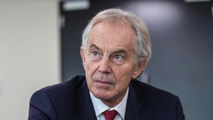 El ex primer ministro británico, Tony Blair
