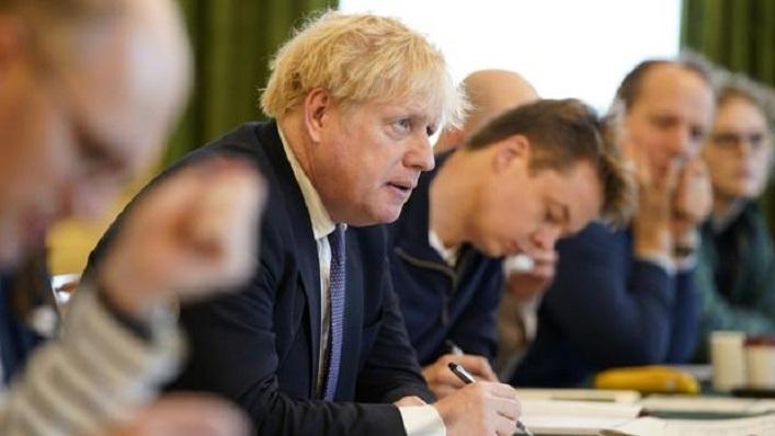 Boris Johnson, en una foto reciente