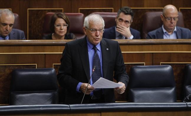 Josep Borrell, ministro en funciones de Asuntos Exteriores