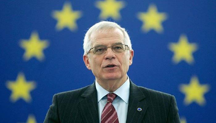 Josep Borrell, cabeza de lista del PSOE al Parlamento Europeo