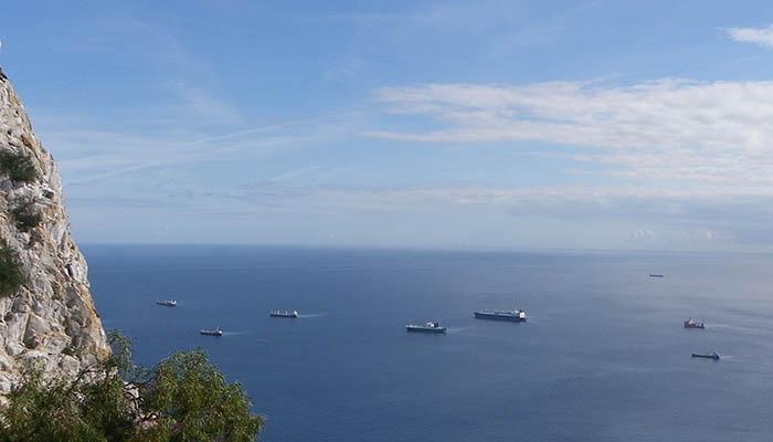 Vista marítima desde la costa del Peñón. Foto NG