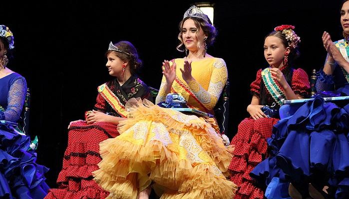 Pilar Gavira, coronada como reina de la Feria Real de Algeciras 2019