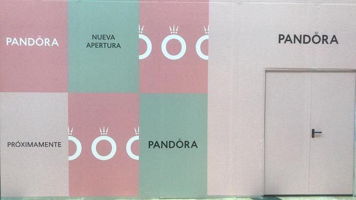 Pandora prepara su desembarco en el Centro Comercial Puerta Europa