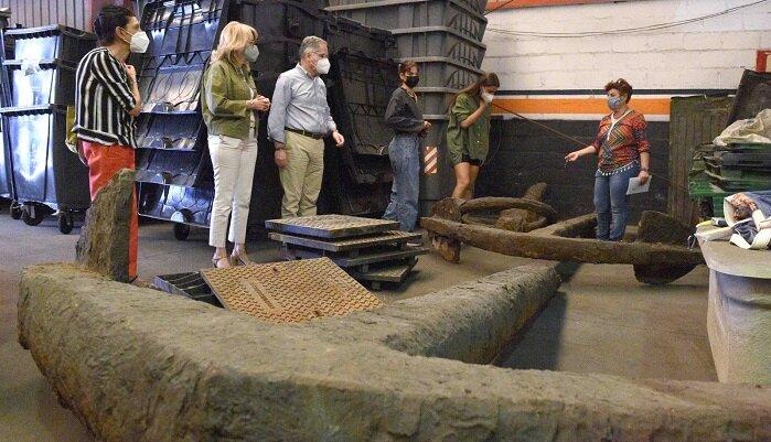 El Centro de Arqueología Subacuática analizará las anclas de Isla Verde
