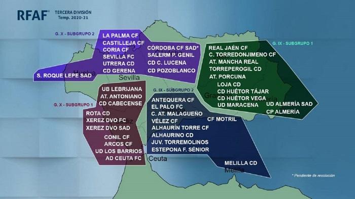 La UD Los Barrios ya conoce sus rivales para la primera fase de Tercera