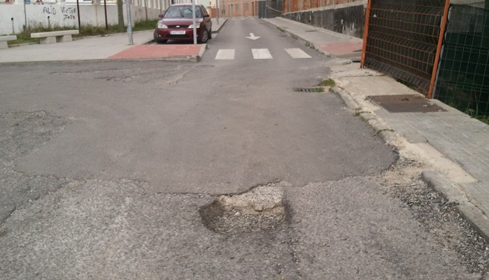 La Junta licita la reurbanización de la calle Bombita en Algeciras