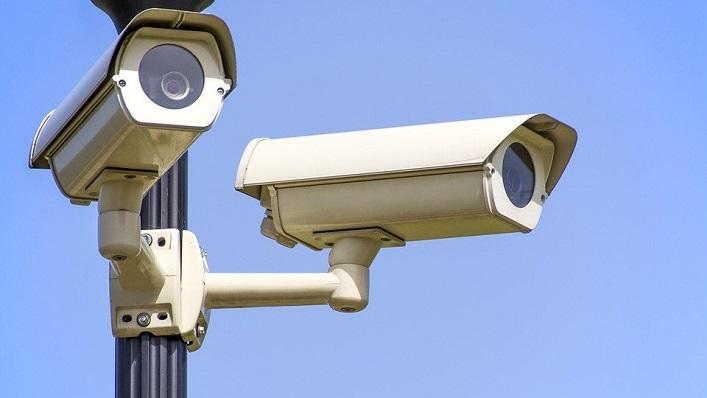 Unas cámaras de videovigilancia