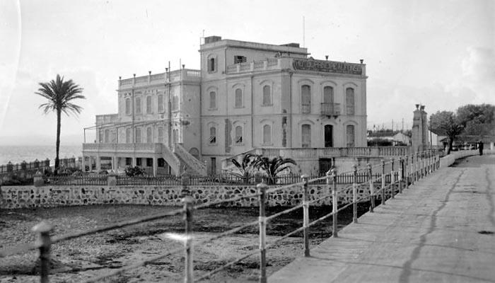 El Príncipe Alfonso en 1931 (Copia Archivo Municipal de San Roque)
