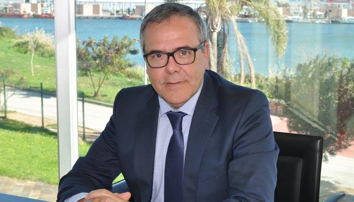 El presidente de la Cámara de Comercio del Campo de Gibraltar, Carlos Fenoy