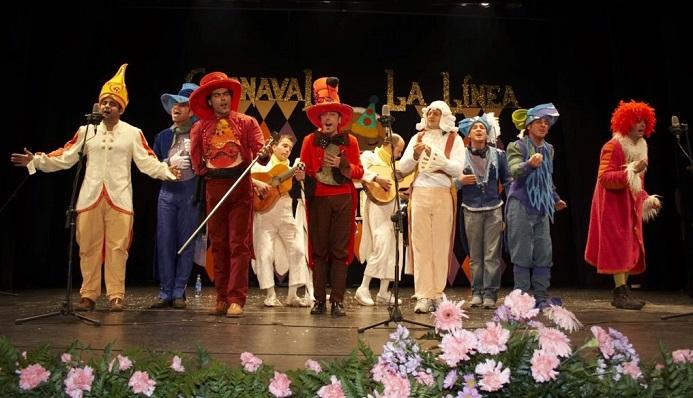 Una agrupación de carnaval en una imagen de archivo