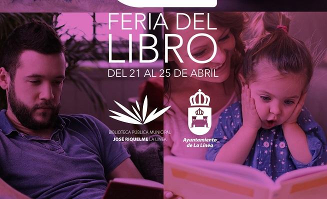 Parte del cartel de la Feria del Libro de este año. Foto: lalínea.es