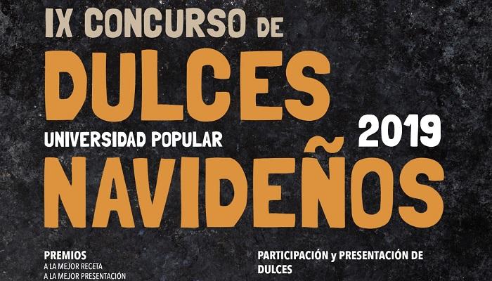 La Universidad Popular convoca el IX Concurso de Dulces Navideños