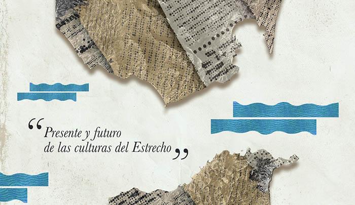 Cartel del congreso de Periodistas del Estrecho