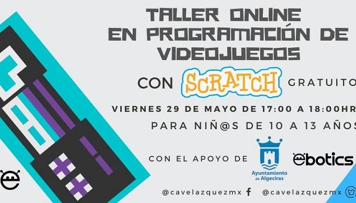Educación anuncia un taller gratuito de videojuegos para niños en Algeciras