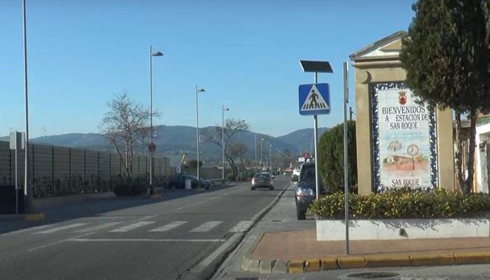 Entrada a la Estación de San Roque