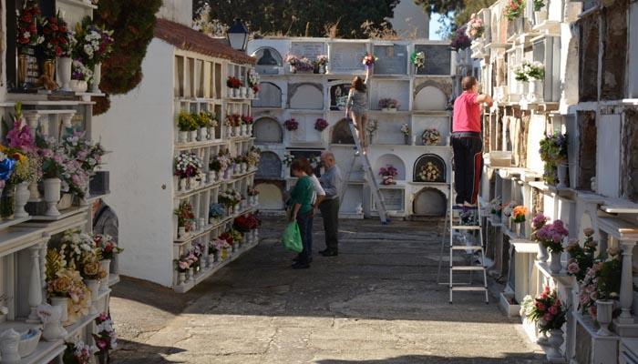 Imagen del cementerio del casco urbano de San Roque