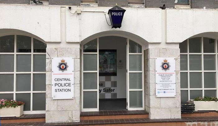 Central de la Policía de Gibraltar. Foto NG