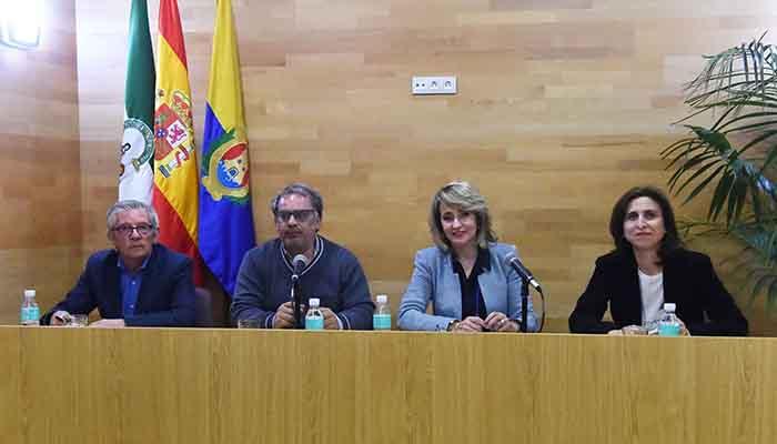 Presentación del libro de Juan Emilio Ríos en Algeciras