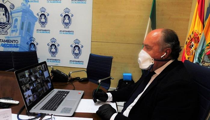 El alcalde participa en el Consejo Económico y Social del Campo de Gibraltar
