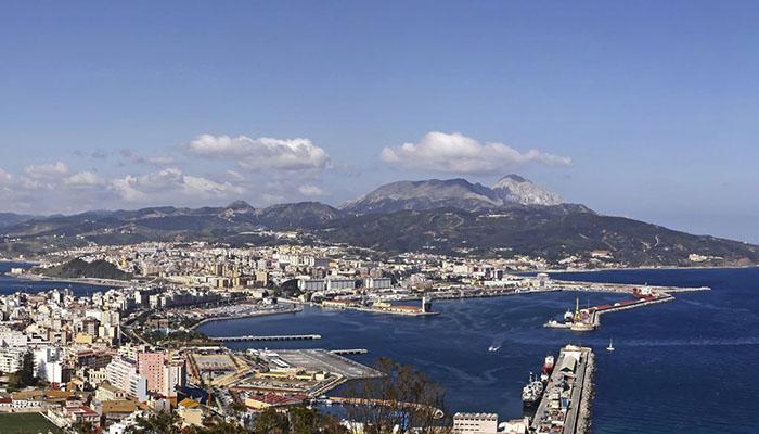 Imagen general de la ciudad de Ceuta