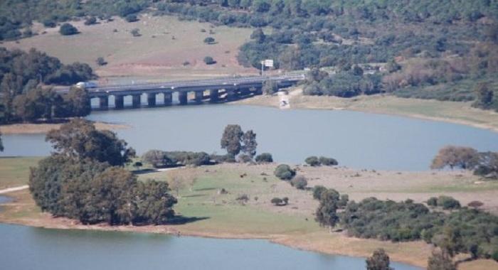 Imagen del pantano de Charco Redondo, en Los Barrios