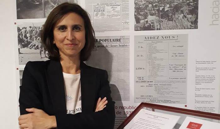 La autora Charo Pérez Villanueva