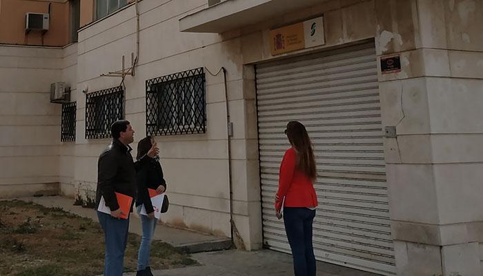 Lugar que proponen desde Ciudadanos La Línea para la oficina del emprendedor
