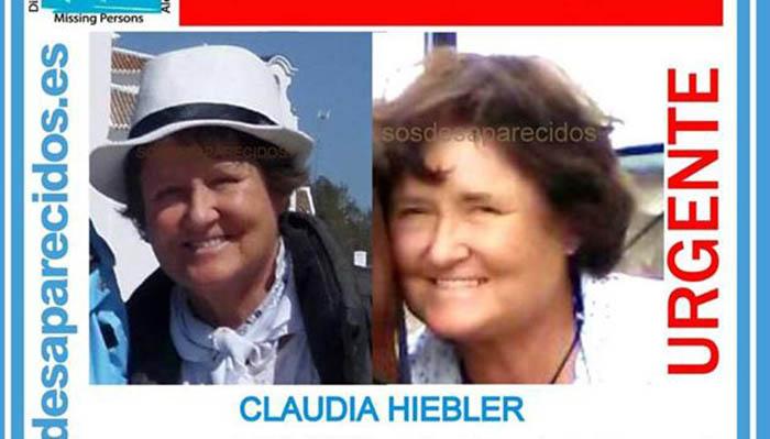 Imagen de Claudia Hiebler, en la lista de desaparecidos