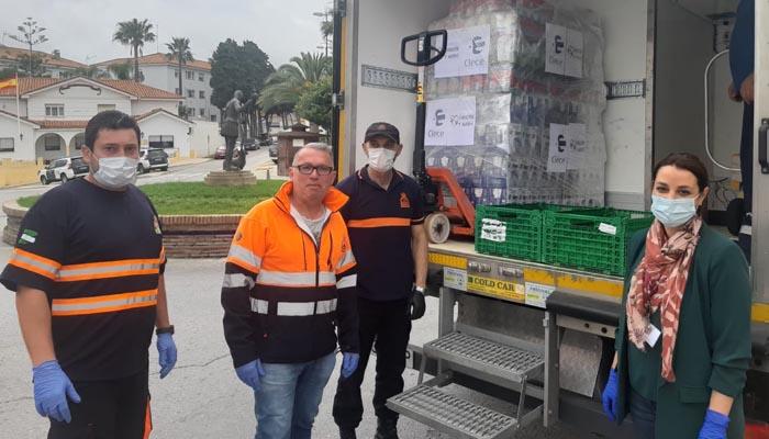 La donación se ha descargado en la sede de Protección Civil