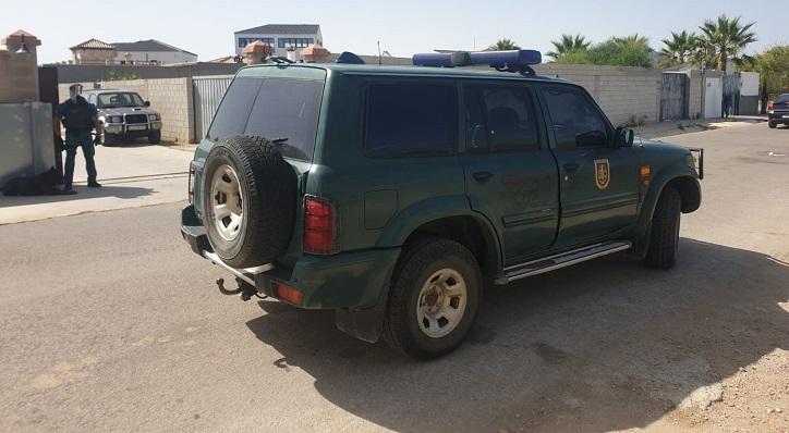 Operación de la Guardia Civil contra el blanqueo de capitales por narcotráfico en La Línea - EUROPA PRESS