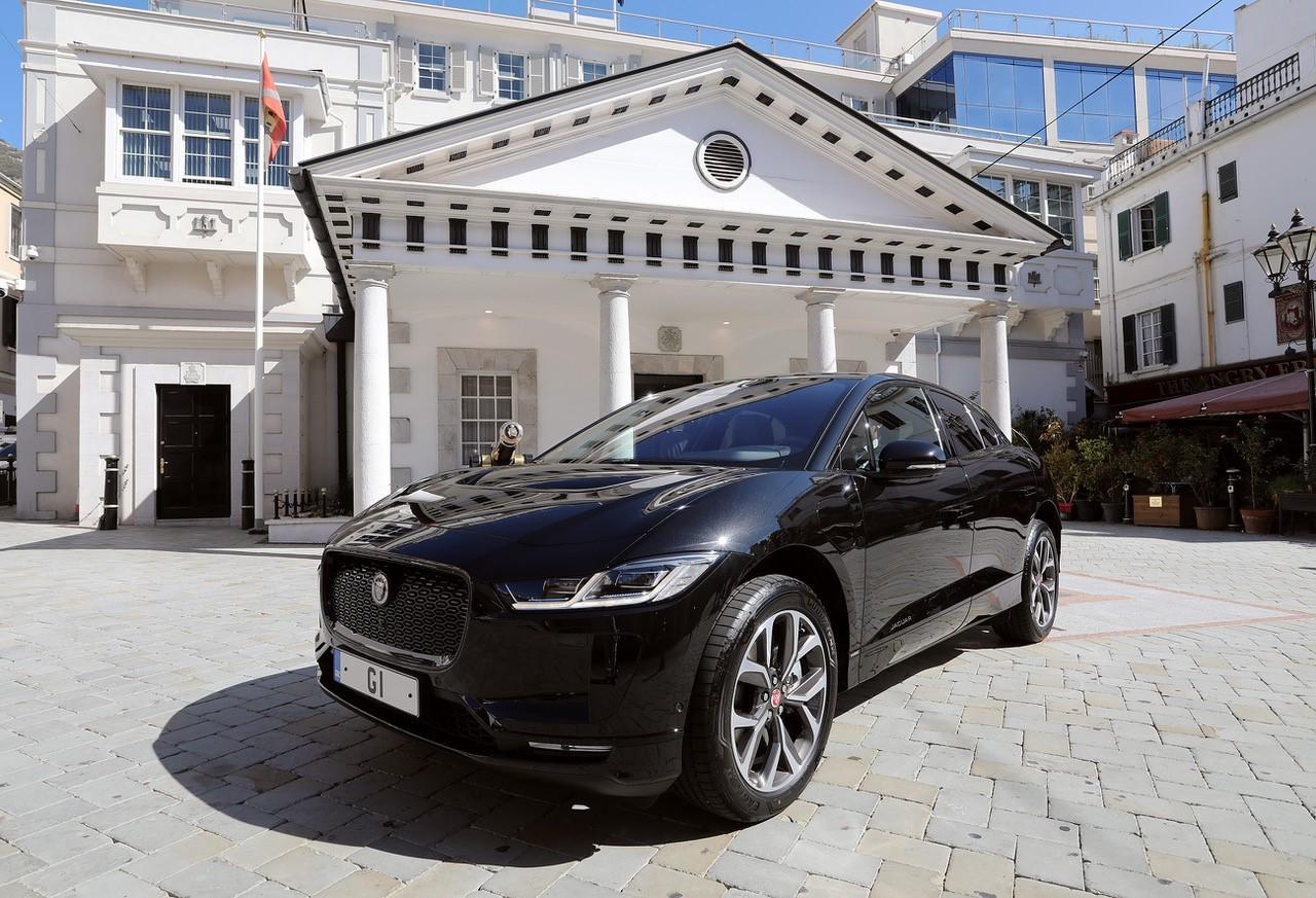 Este es el coche con el que se desplazará Picardo. Foto Gobierno de Gibraltar