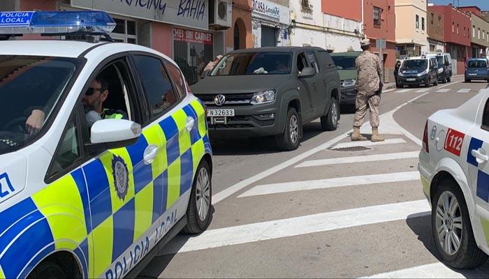 Coche de la Policía Local de Algeciras en imagen de archivo